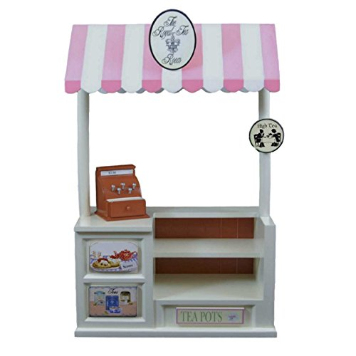 Royal-tea Room Snack Shoppe Set & Changeable Signs for 18 Inch American Girl Doll (Shoppe Table)