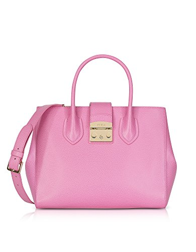 Furla Mujer 920434 Rosa Cuero Bolso De Mano