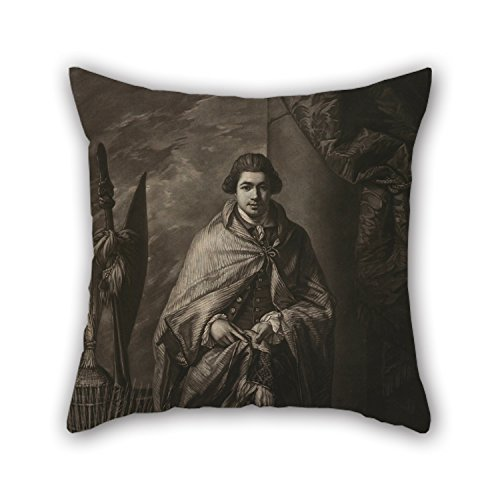 West Side Lounger (Loveloveu Oil Painting John Raphael Smith, After Benjamin West - Mr. Banks Pillow Shams 18 X 18 Inches / 45 By 45 Cm Best Choice For Festival,father,outdoor,monther,saloon,bedroom With Two Sides)