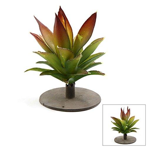(uxcell Green Plastic Terrarium Leaves Plant)
