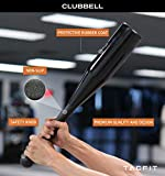 Clubbell by TACFIT - Patented Indian Clubs, Steel