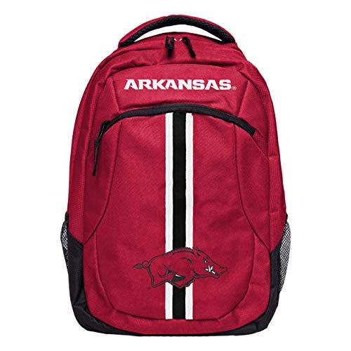 FOCO NCAA Arkansas Razorbacks Action BackpackAction Backpack, Team Color, One Size