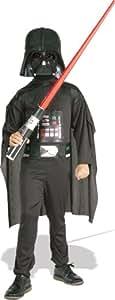 Star Wars - Disfraz Darth Vader con espada, para niños, 3-4 años (Rubies 41020-S)