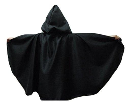 "Merlins Medieval Closet Cloak - Legoslas/Frodo/Lord Of The Rings/Elf 40"" black"