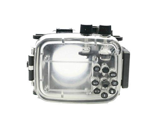 Yunchenghe Funda Subacuática para Cámara Sumergible Impermeable 40m / 130ft Funda Rígida para Cámara Rígida para Nikon...