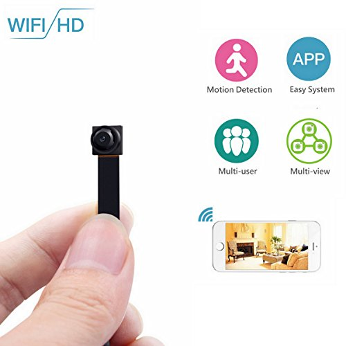 Wifi Hidden Spy Camera-ENKLOV 720P HD Portable Small Mini Ca