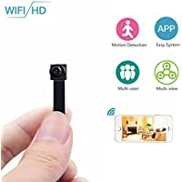 ENKLOV 1080P HD WIFI Mini Camera - Security Camera with Motion Detection,P2P Wireless Video Camcorder ,Home Nanny Pet Baby Cam for IOS iPhone Android Phone APP Remote View Support 128GB(Not include) …