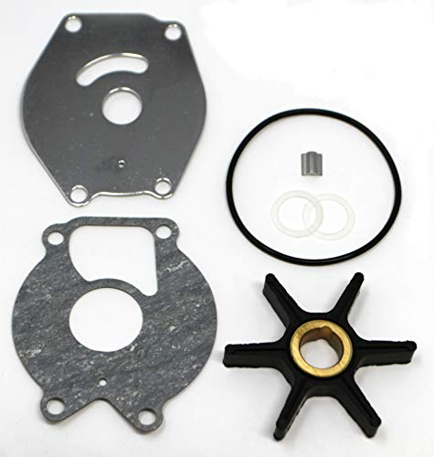 SEI MARINE PRODUCTS-Compatible with Mercury Force Impeller Kit 47-85089T4 9.9 13.5 15 18 20 25 HP 2 Stroke 4 Stroke