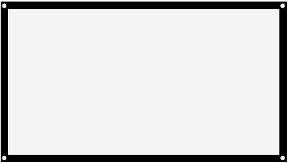 ASHATA Rolloleinwand Beamer Leinwand,16 9 Projektion Leinwand Tragbare Faltbare Beamerleinwand,Geeignet f/ür Heimkino-Projektionsfilme im Freien//Innenbereich//Camping 72 Zoll