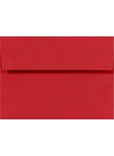 A2 Invitation Envelopes w/Peel & Press (4 3/8 x 5 3/4) - Ruby Red (1000 Qty.)
