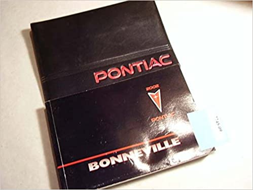 Mnl-0626] 2003 pontiac bonneville owners manual | 2019 ebook library.