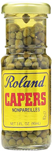 Roland Nonpareille Capers, 3 Ounce (Pack of 12) by Roland