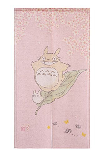 Noren Totoro riding on the spring breeze 150cm x 85cm