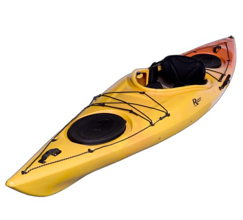 Riot-Kayaks-Edge-13-LV-Flatwater-Day-Touring-Kayak-YellowOrange-13-Feet