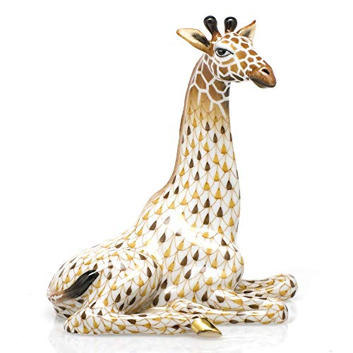 Herend Giraffe Porcelain Figurine Reserve Collection
