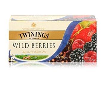 (Twinings Wild Berries Tea 25pcs 1box 50g)