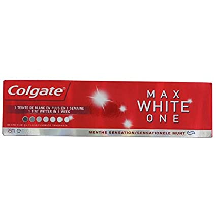 Colgate dentifrice max white one 75ml