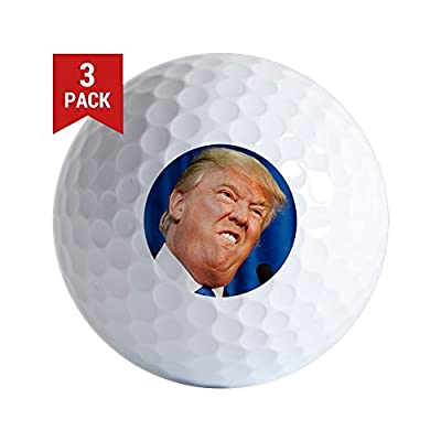 CafePress - Donald Trump - Golf Balls (3-Pack), Unique Printed Golf Balls