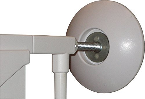 Our Full Size Wall Saver for Baby Gates Makes Gate Installations Safer/More Secure-Protects Your Walls from Dents and Scratches–Works with All Walk-Through Pressure Mounted Child Safety Gates–2 pack