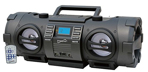 Supersonic SC2711BT Radio/CD Player Boombox