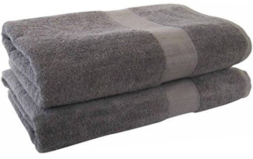SPECIAL STOCK: Set of Luxury Bath Towels � 100% USA Cotton Hotel & Spa Towels, Extra Absorbent Thick and Luxuriously Soft Large 30� x 56� Charcoal Towels for Guest Shower Bathroom Pool ( SET OF 6) (Towel Sets Bath Inexpensive)