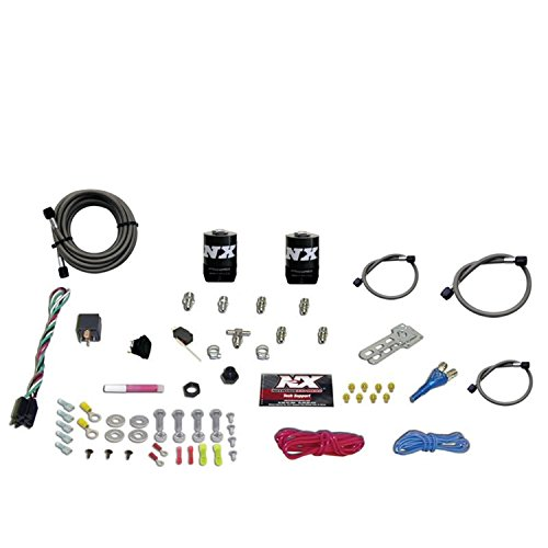System Nozzle Single (Nitrous Express 20923-00 35-75 HP Sport Compact EFI Single Nozzle System)