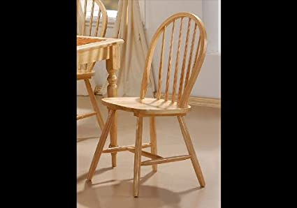 Surprising Coaster Home Furnishings Natural Finish Spindle Back Wood Dining Chair Set Of 4 Ibusinesslaw Wood Chair Design Ideas Ibusinesslaworg
