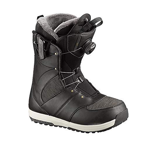 Salomon Snowboards Ivy Boa Snowboard Boot - Women's Black, 8.5