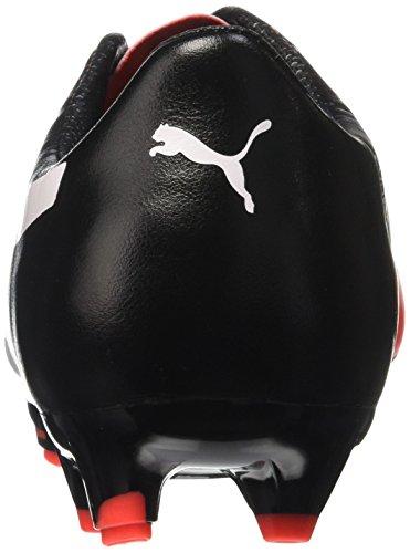 Puma Evopower 2 3 Fg, Football Homme, Rouge (Red Blast/White/Black), 40 EU