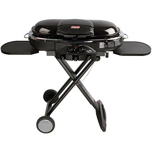 Coleman 2000020937 Road Trip LXE 20,000 BTU 2 Burner Portable Propane Grill, (Road Trip Lxe Portable Grill)