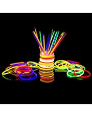 300 Glow Sticks Bulk Party SuppliesGlowsticks and Connectors