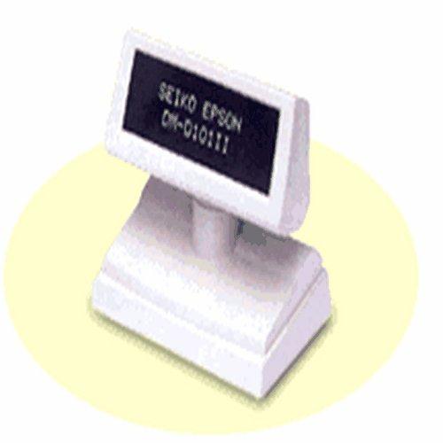 D110-112 Small Pole Display, 2 x 20 Character Format, USB, Black ()