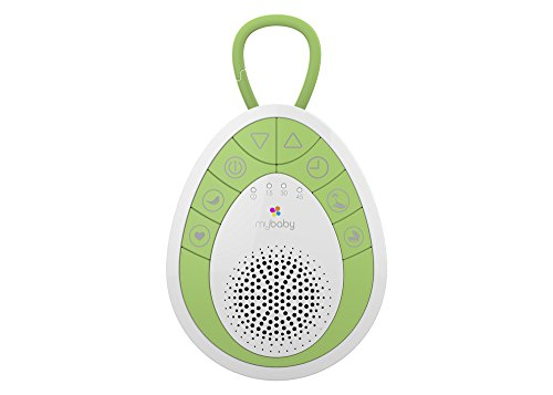 myBaby SoundSpa On-The-Go Sound Machine, Green, Small (Travel White Noise Machine compare prices)