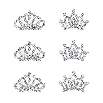 Child Crown Tiara for Flower Girl Kids Birthday Wedding Party Favor