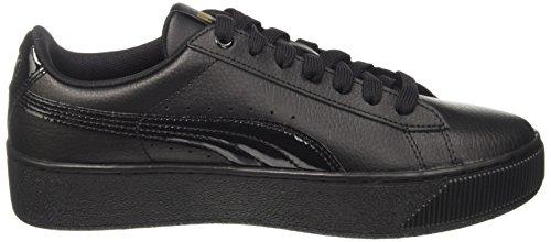 Sneaker Gold Vikky metallic Lthr black P Platform Donna Puma Nero pIqzBww8