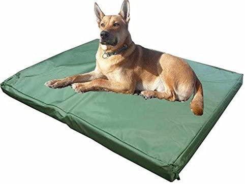 ADOV Cama Perro, Impermeable cojín colchón para Mascotas Perros o Gatos Lavable Material de Cubierta Duradero Oxford 600D XXL/XL/M/S- Medio