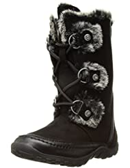 Nine West Girls\' Daffodil 2 Fashion Boot, Black Microfiber, ...