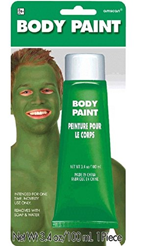 [Green Body Paint, 3.4 oz] (Costume Land)