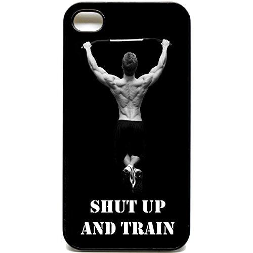 iPhone 4/4S Shut up und trainieren Case Protein motivational