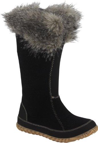 SOREL - Bottes Femme COZY CATE - couleur noir fourrure gris - Taille 38