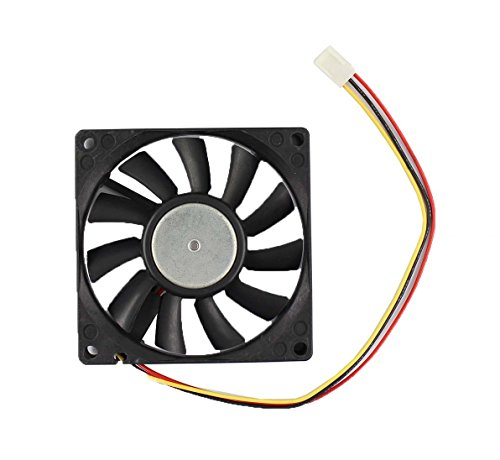 DC24V 0.17A Case Cooling Fan for Panaflo 8015 FBK08T24H 808015mm Power connection 3pins by MOTOKU