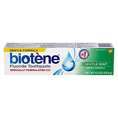 Biotene Gentle Mint Fluoride Toothpaste 4.3 Oz, 6 Pack