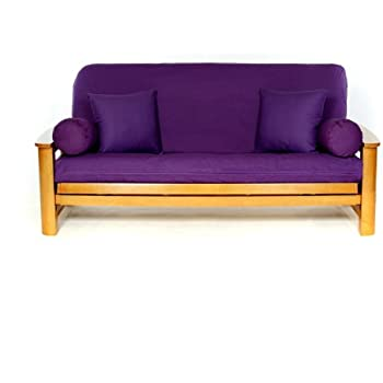 Amazon Com Lifestyle Covers Purple Full Size Futon Cover