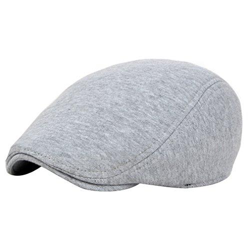 Casquette Chapeau Flat Adulte Gris 5 Acvip Enfant Cap Coton Couleurs Plate Style Mode qxgCFHn