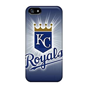 For Iphone Case, High Quality Kansas City Royals For Iphone 5/5s Cover Cases by icecream design
