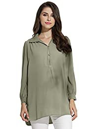 Sweet Mommy Maternity and Nursing Shirt Blouse and Bamboo Fiber Tank Top Set