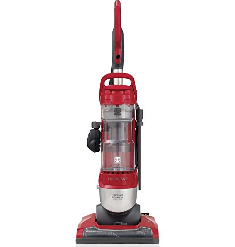 Kenmore 10135 Pet Friendly  Bagless Progressive Upright Vacuum w/Pet Handi-Mate, HEPA Filter, Telescoping Wand, 4-Height Adjustments, 2 Cleaning Tools-Red/Silver