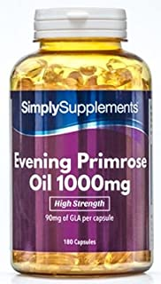 Evening Primrose Oil 1000mg | 360 Capsules in total | May support heart health and circulation
