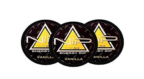 Nip Energy Dip Vanilla Flavor 3 Pack Food Beverages