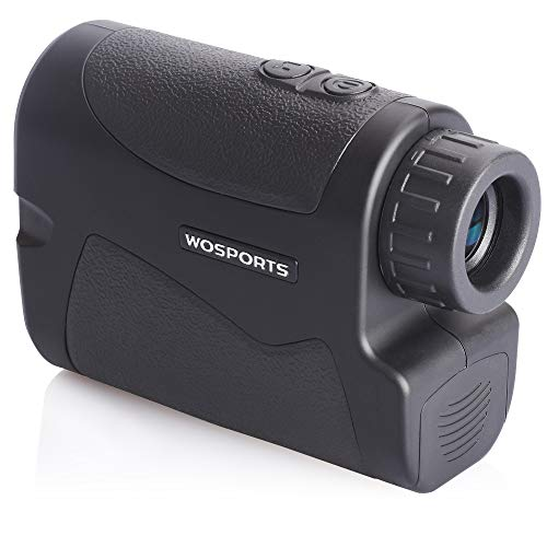Wosports Rangefinder for Golf Laser Hunting Range Finder with Flagpole Lock - Ranging - Speed Function